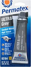 Best Permatex 82194 Ultra Grey Rigid High-Torque RTV Silicone Gasket Maker, 3.5 oz. Review