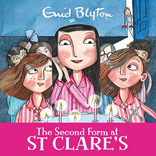 The Second Form at St Clare's audiobook cover art