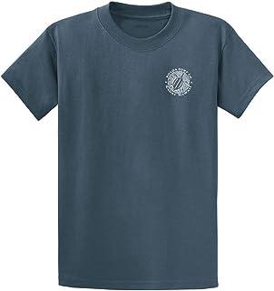 Size 2XL 52//54 Mens Jacamo Black//White Chase The Swell Surf Print T-Shirt
