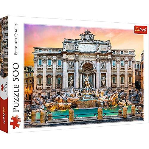 Brandsseller - Puzzle Trevi fontane, 500 pezzi