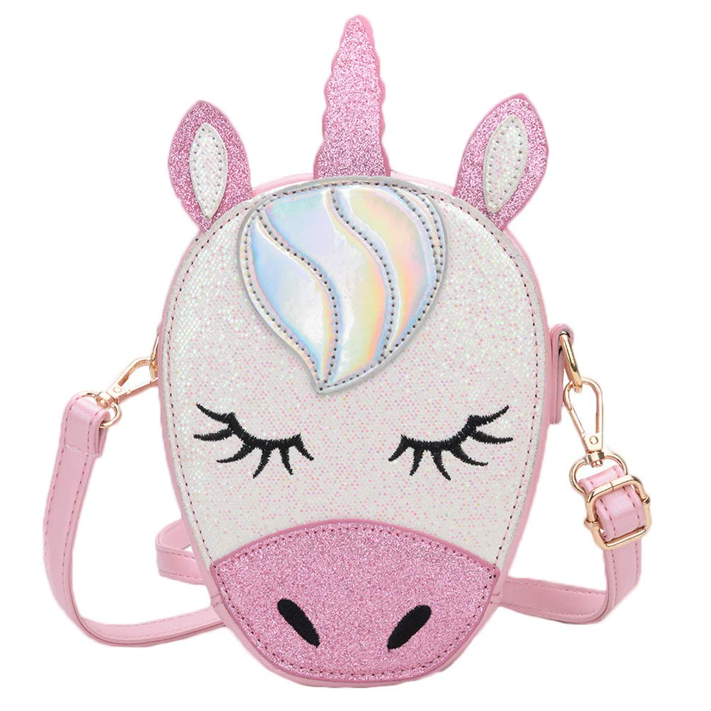 Stephen Joseph Girls Quilted Unicorn Purse and Coin Purse