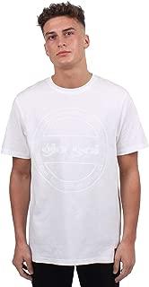 GioGoi Core T-Shirt Mens White Tee Shirt Top
