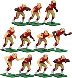 San Francisco 49ers Home Jersey NFL Action Figure Set