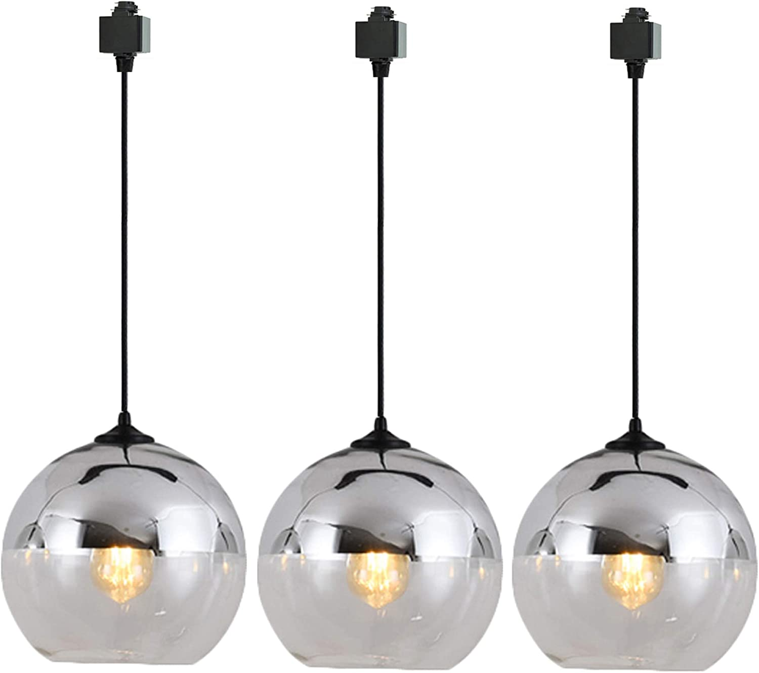 STGLIGHTING H Track Pendant Light Globe Vintage with Glass Shade Overseas parallel import regular item Selling and selling