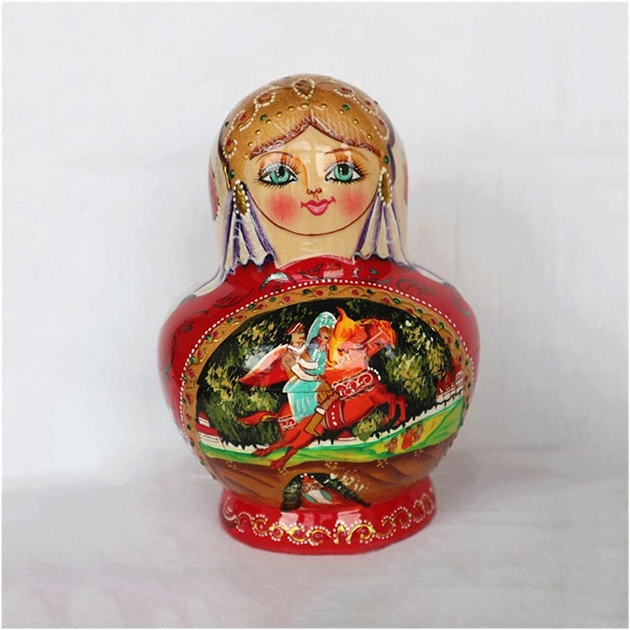 Russian Nesting Dolls 10-Layer Wooden Princess Clearance SALE Limited time Pat Popular popular