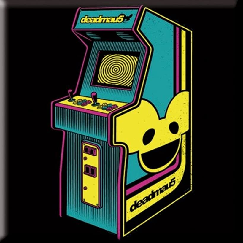 Deadmau5 Fridge Magnet: Arcade