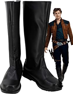 Solo A Star Wars Story Han Solo Cosplay Shoes Boots Custom Made 2