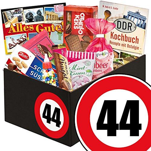 Geschenkidee 44. Geburtstag / Süßigkeiten Box / 44 Geschenke zum 44 Geburtstag