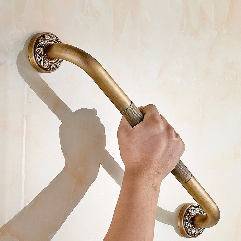 WAWZJ Handrail All Copper Thickening Antiquate Bathroom Armrest Anti Slide Handrails