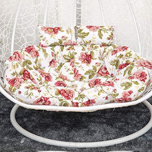 MSM Furniture Seat Cushion Pad Garden Patio,double Wicker Rattan Cushion,hanging Hammock Nest Swing Cushion,hanging Egg Chair Cushion M