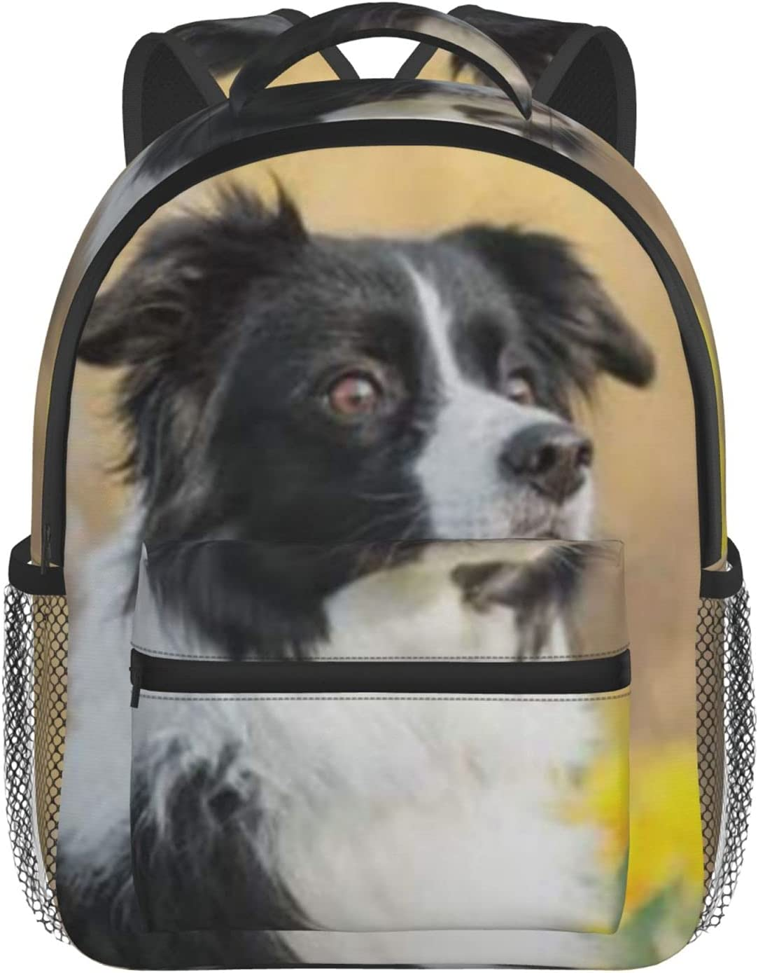 trend rank Border Collie Dog Kids San Antonio Mall Backpack For Boys And Day Girls Toddlers