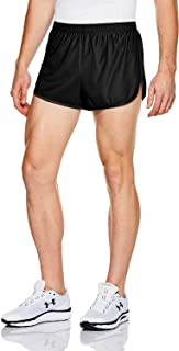 ATHLIO 1 or 2 Pack Men's Running Shorts, 3 Inch Quick Dry Mesh Athletic Shorts, Gym Training Workout Shorts with Pockets