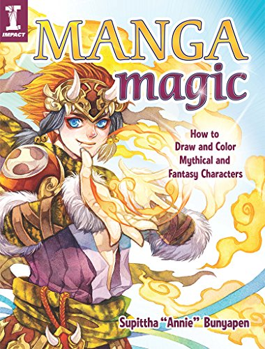 Manga Magic: How to Draw and Color Mythical and Fantasy Characters (English Edition)