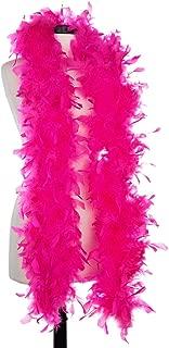 Aqua 65 Gram Chandelle Feather Boas (Hot Pink)