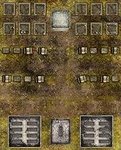 Deadlands Noir: Map Cemetery/Crypt (S2P10705, Savage Worlds)