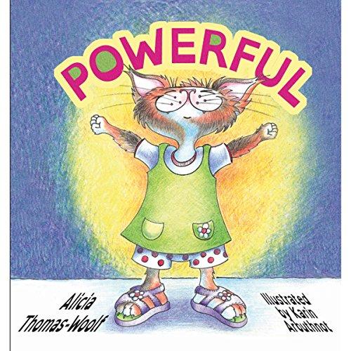 Powerful audiobook cover art
