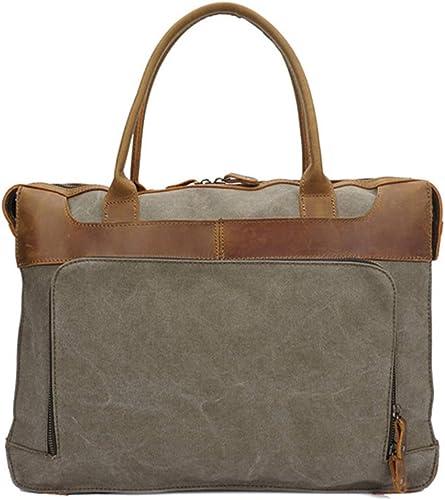 HXZB Leinwand Messenger Bag M er Retro Single Shoulder Handtasche