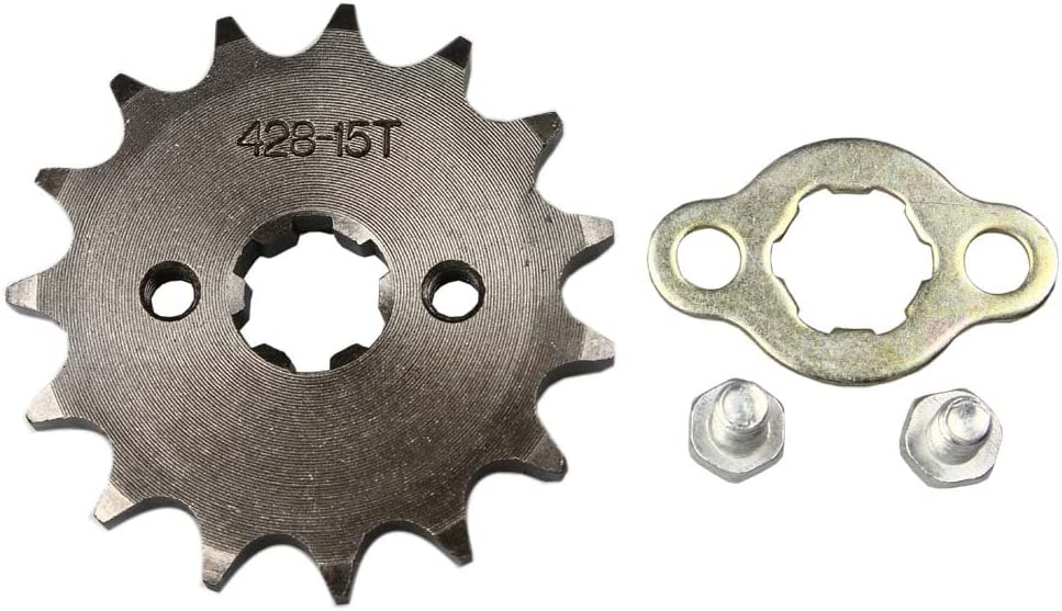 WEIYINGSI Sprocket Limited time trial price Front 428-15T 17mm Cheap sale ATV Motorcycle Dirtbike