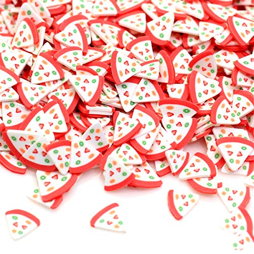 SUCHUANGUANG 1500Pieces Fruit Slices Decor Additives For Slime Filler Supplies Charms Clay Acces polymer clay slices