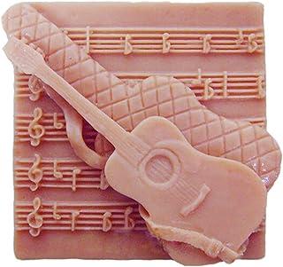 Grainrain Silicone Soap Molds Square Gitar Shapes Soap Making Mold DIY Handmade Soap Mould