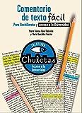 Comentario de texto fácil para Bachillerato (CHULETAS) - 9788467039436