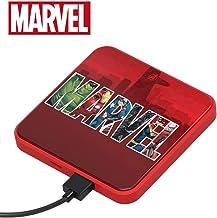 Tribe Power Bank 4000 mAh Marvel Logo – Cargador de batería portátil Universal Original Marvel, PBL21600