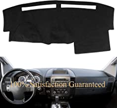 Dashboard Cover Dash Cover Mat Pad Carpet Custom Fit for Nissan Titan 2004-2012 (Black) Y30