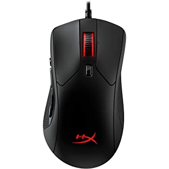 HyperX Pulsefire Raid - Mouse Gaming - 11 Botones Programables, RGB, Diseño Ergonómico, Agarres Laterales Cómodos, Personalización Controlada NGENUITY Software (HX-MC005B)