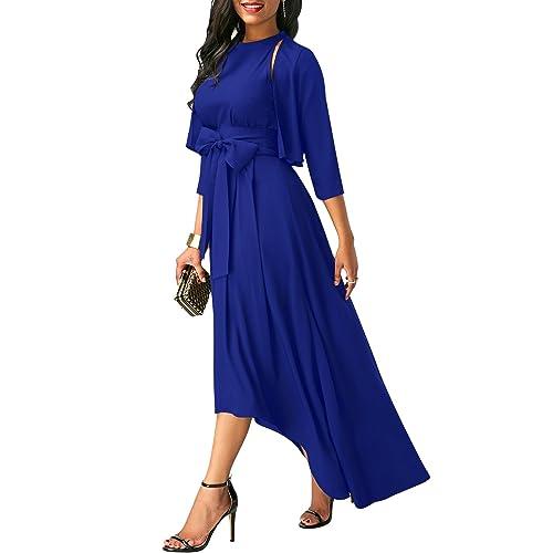 53ad6717412f4 High Low Maxi Dress: Amazon.co.uk
