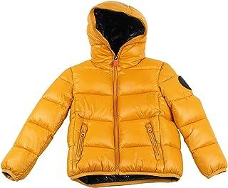 Save The Duck Bambino J3128BLUCKY Mustard Yellow Giubbotto Inverno 4 Anni