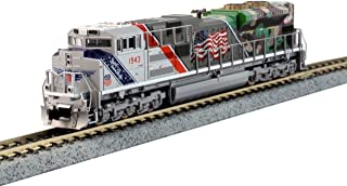 Kato N Scale EMD SD70ACe UP The Spirit #1943