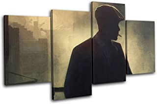JESC Wall Art Peaky Blinders Canvas Painting Art Print Picture Wall Decor Hanging Framed and Ready to Hang