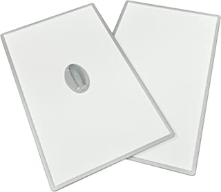 東プレ 風呂ふた 抗菌タイプ 組み合わせ式 取っ手付き (2枚組) 70×100cm ホワイト/ホワイト U10