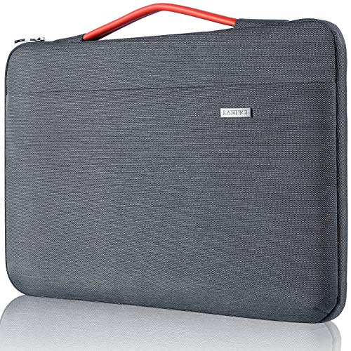 Landici Protective Laptop Sleeve 11 11.6 13 13.5 14 15 15.4 15.6 Chromebook Case Slim Computer Bag with Pockets