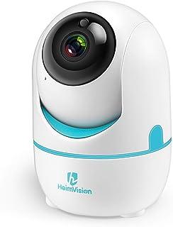 HeimVision 1536P WLAN Kamera Überwachungskamera Innen, 3MP 360°Schwenkbare HD Babyphone..