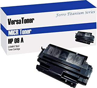 VersaToner - 09A C3909A MICR Toner Cartridge for Check Printing - Compatible with LaserJet 5Si, 8000, Mopier 240