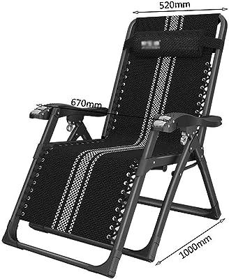Amazon.com: YXX - Silla reclinable para patio al aire libre ...