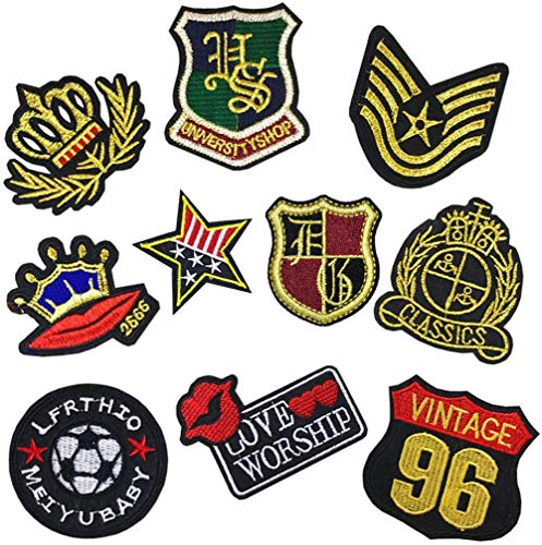 Iron On Patches...
