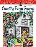 Creative Haven Country Farm Scenes Coloring...