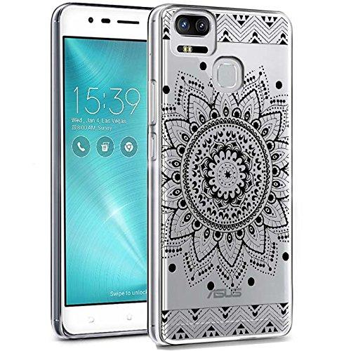 ocketcase Asus ZenFone Zoom S (ZE553KL) Hülle, TPU Schutzhülle Tasche Case Cover Kratzfest Weich Silikon Schutz Shell Flexibel Gel Bumper (Farbe 10)