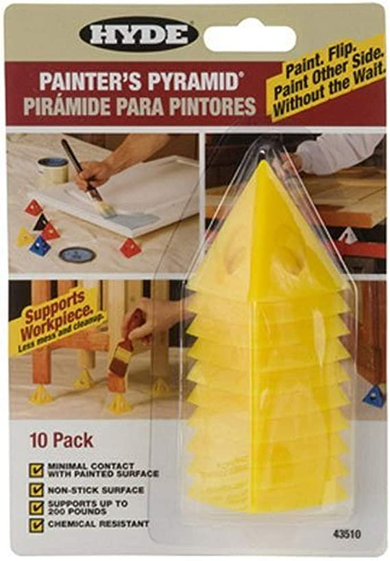 Painters Pyramid Stands Yellow 2-PACK