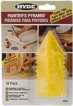 Hyde Tools 43510 Schilders Piramide (10 Pack), 1 Pack, Geel