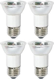 Pack of 4 75 Watt JDR MR16 75W 120 Volt Medium Base Halogen Flood Lamp E26 120V Mini Reflector Light Bulb