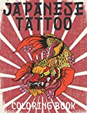 Japanese Tattoo Coloring Book: Tattoo Coloring Book For Adults