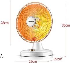 XFL Calentador Pequeño Calentador Solar de Escritorio Calentador Eléctrico Calentador Calentador Eléctrico Hogar Estudiante Estufa para Asar
