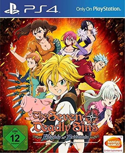 The Seven Deadly Sins: Knights of Britannia - PlayStation 4 [Importación alemana]