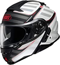 Shoei Neotec II Modular Motorcycle Helmet Splicer Matte White TC-6 Large (More Size Options)