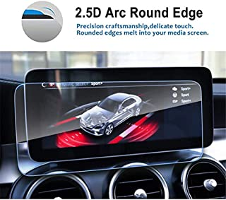 KAIQINSN For Audi A8 2018 2019, Car Back Seat Pad and TV Panel TPU Screen Protective Film Car Accessories