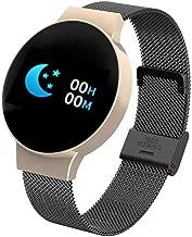 Bravetoshop Smart Watch IP67 Waterproof Smartwatch Heart Rate Blood Pressure Monitor Fitness Tracker for Women Men Kids