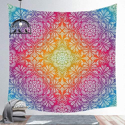 Tapiz de mandala para colgar en la pared, alfombra para yoga, alfombra para playa de arena, manta, colchón, colchoneta para dormir 150x201 CM